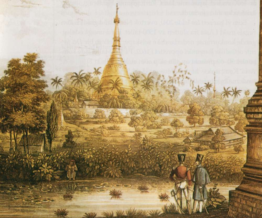 Золотая пагода Шведагон в Янгоне