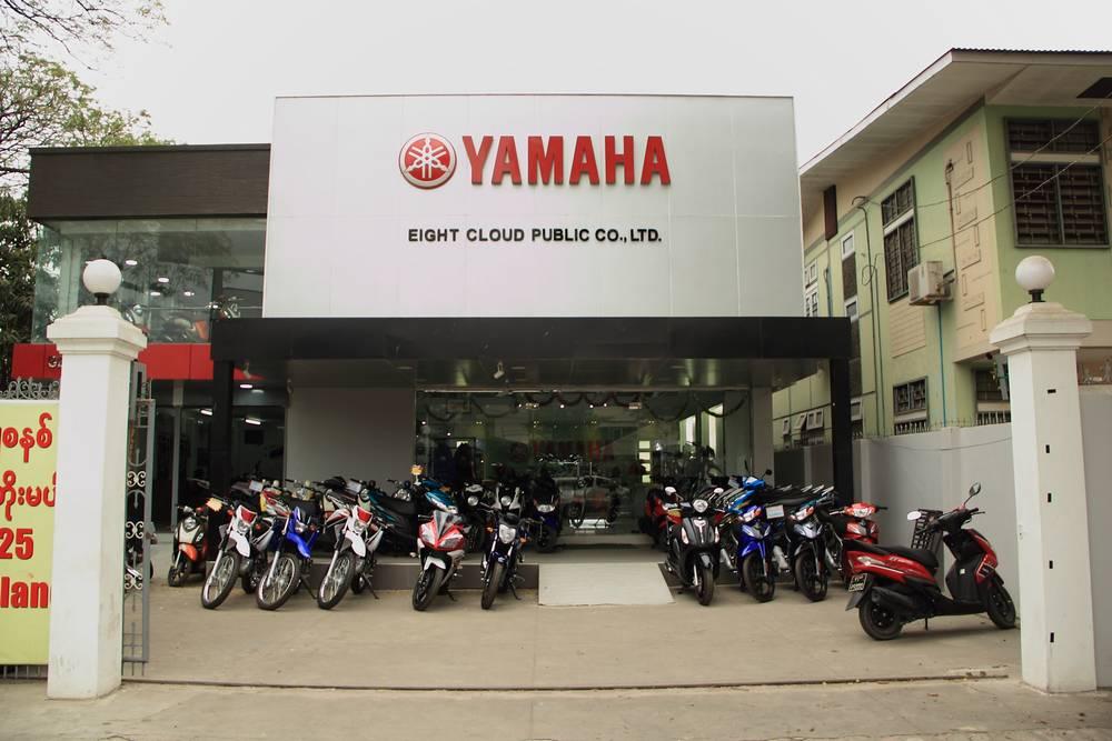 Фото Мандалай. Продажа скутеров в Мандалае