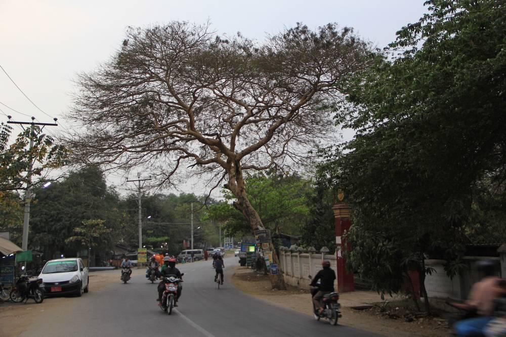 Типичная улица не в центре