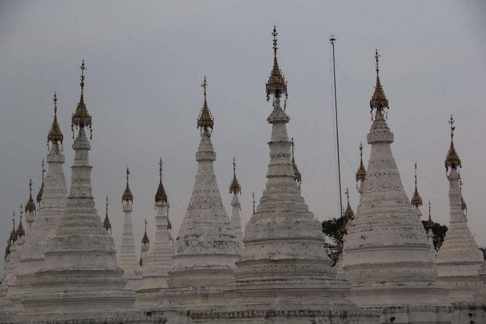 Ступы в Мьянме