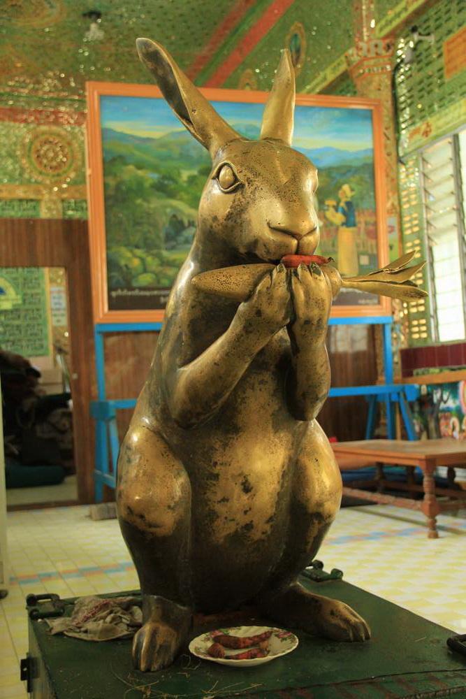 братец кролик с морковкой