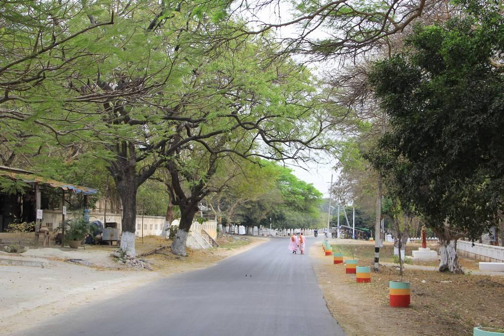 дорога в мьянме
