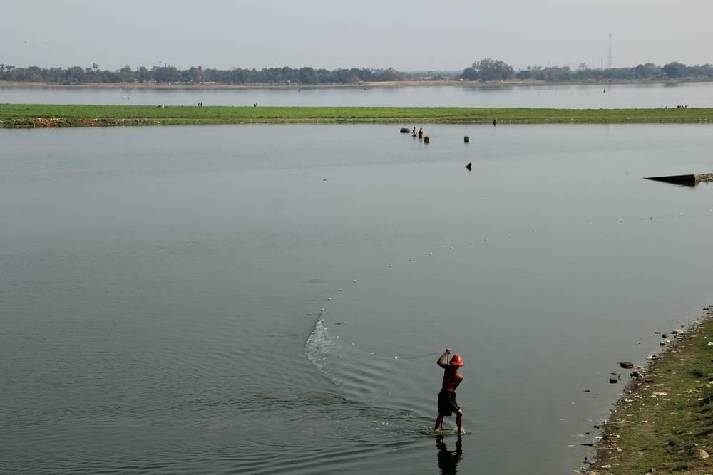 Ловить сетью рыбу