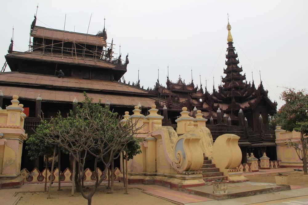 деревянный монастырь шве ин бин