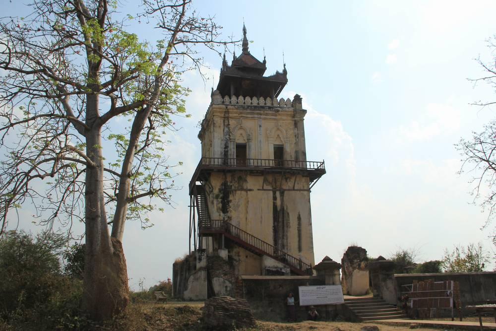башня ава мьянма