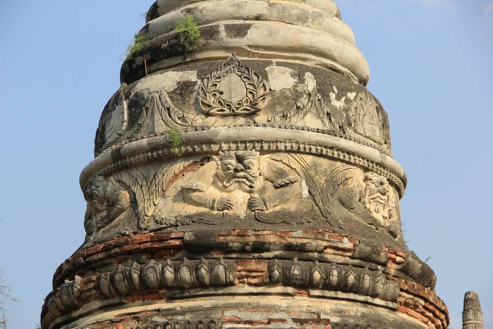 Купол ступы в Мьянме