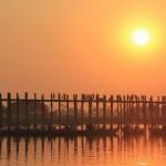 мост убэйн мьянма