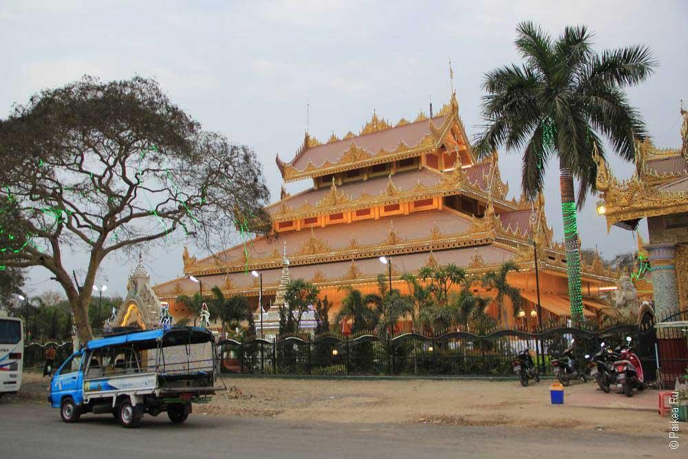 храм в мьанме