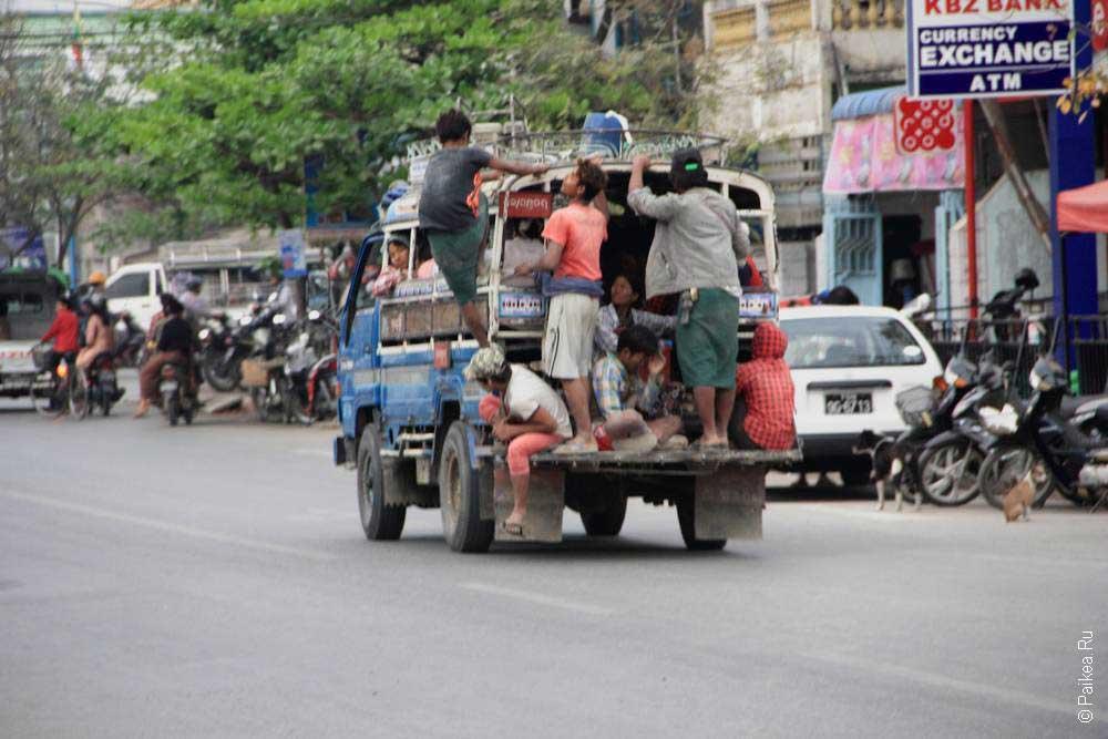 мандалай в мьянме фото