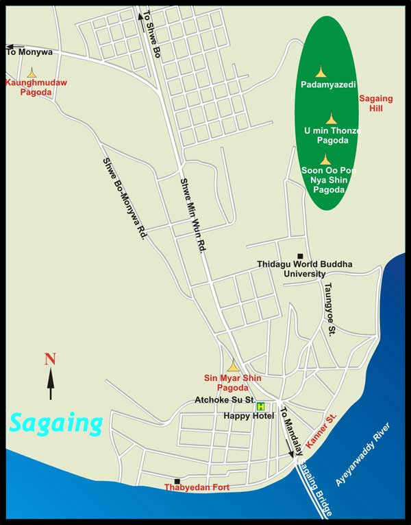 сагайн карта