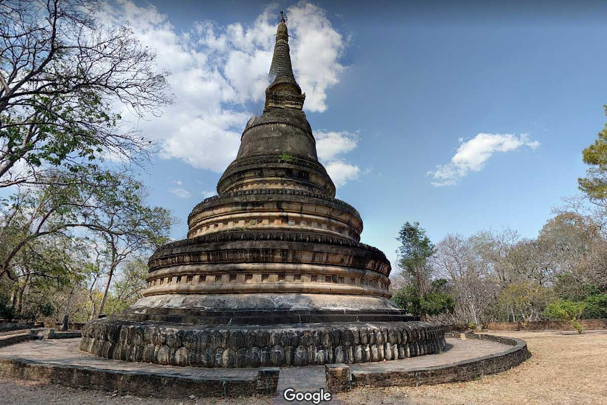 чианг май храм ват умонг