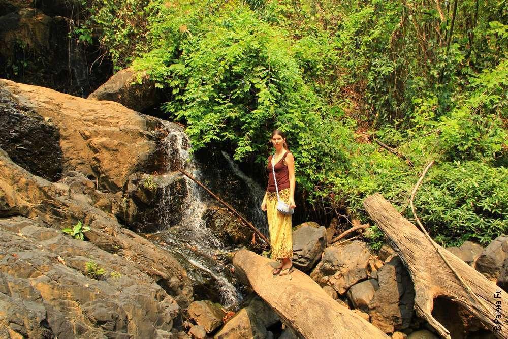 Водопад в Северном Таиланде