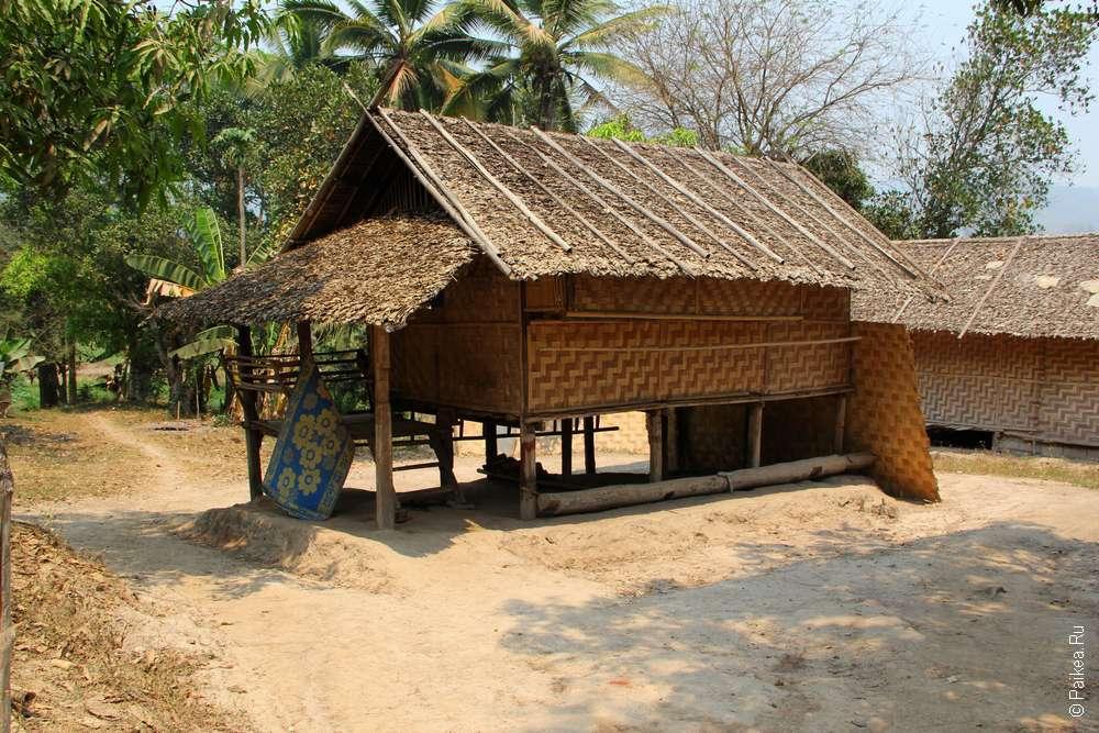 Деревня каренов Таиланд