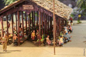 В музее Кун Юам Таиланд