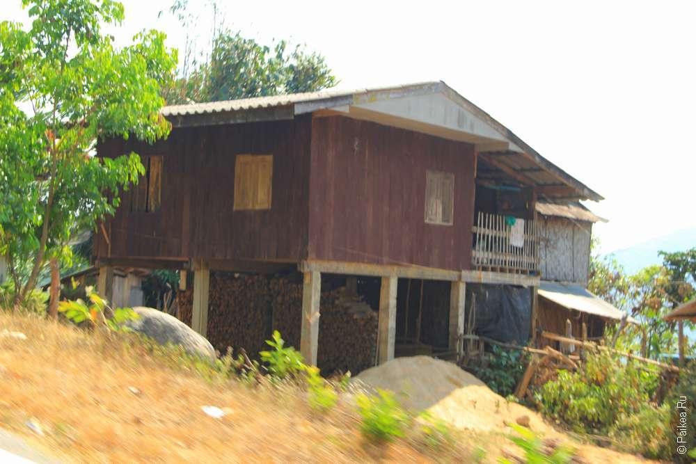 Дом племени лава
