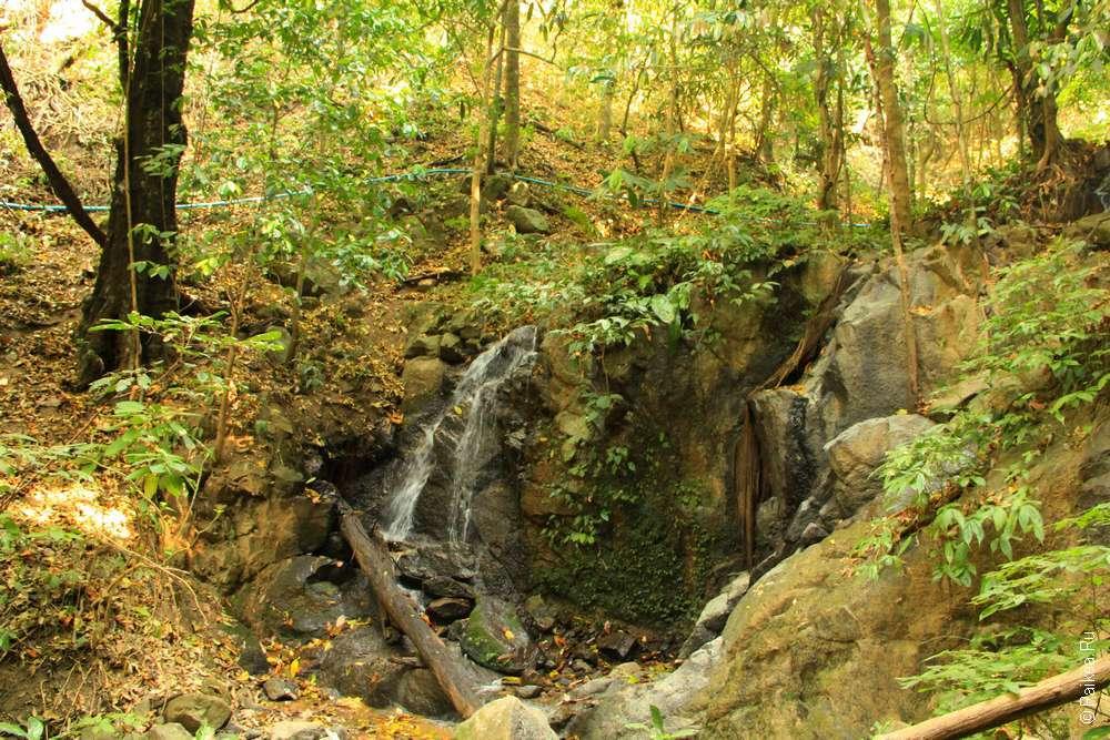 Водопад Нати Ратчан Северный Таиланд