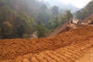 Дорога в Бан Мэ Сам Лаэп из Мае Сарианг