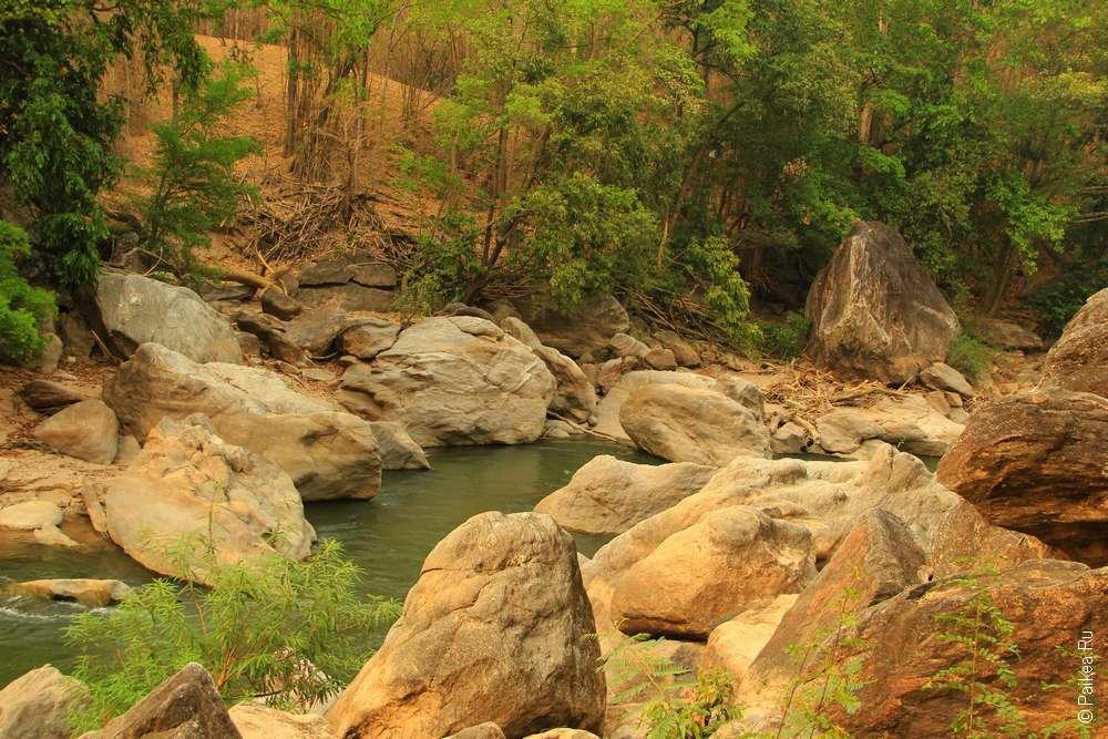 Река Мае Чэм Северный Таиланд