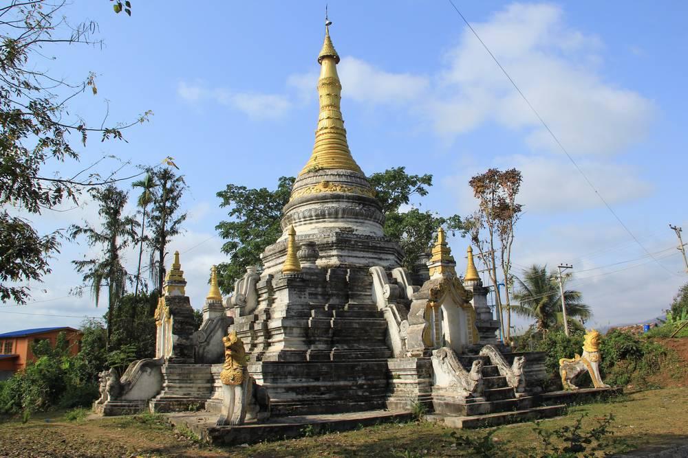 ступа в сипо мьянма