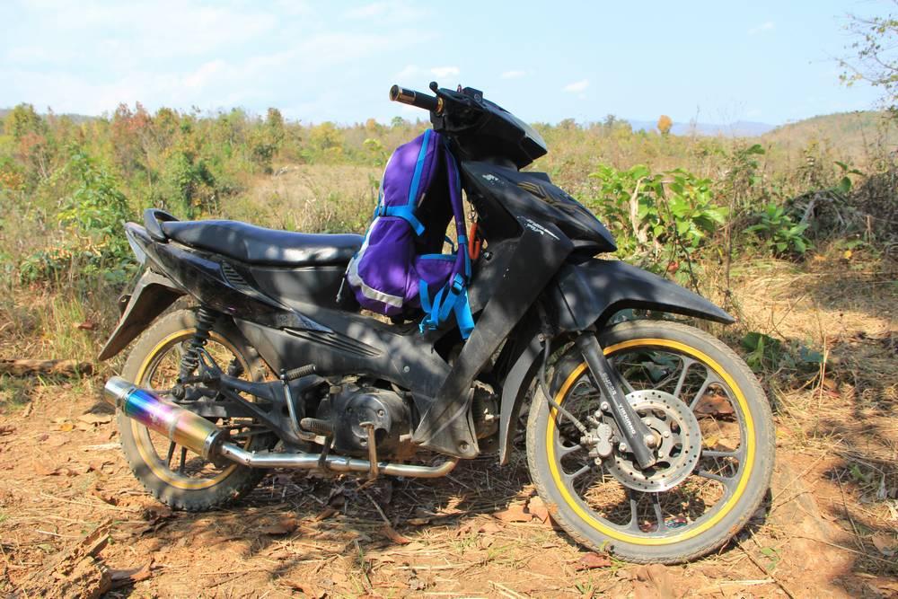Мотобайк в Мьянме