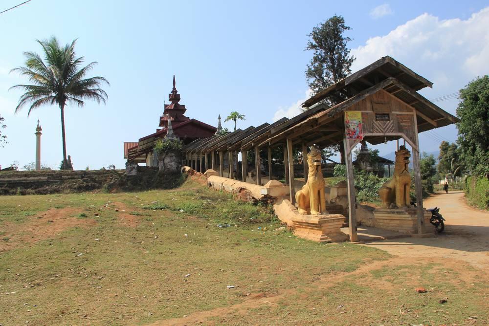 В деревне нашелся древний храм