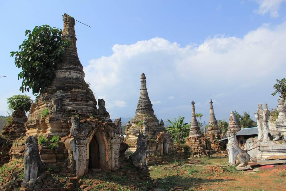 древние чеди в мьянме