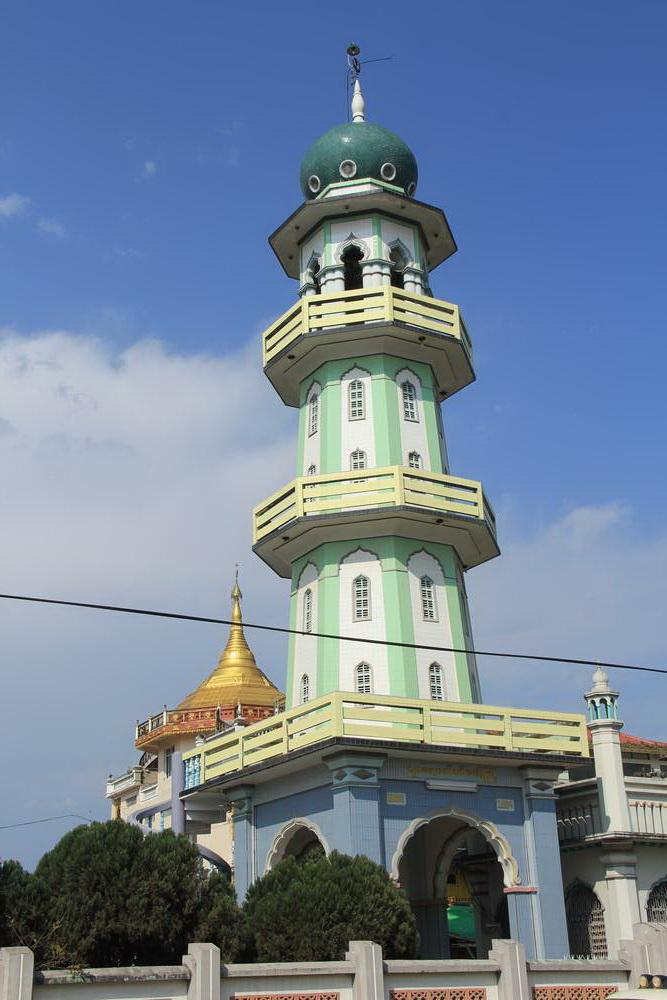Мечеть в Мьянме
