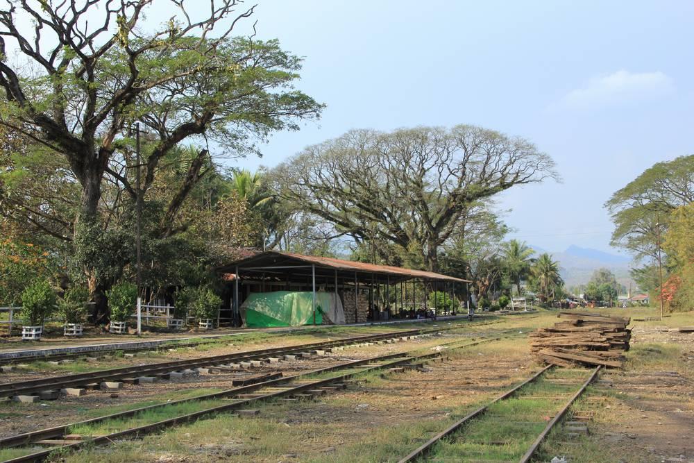 железная дорога в Мьянме