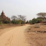 грунтовая дорога в Багане
