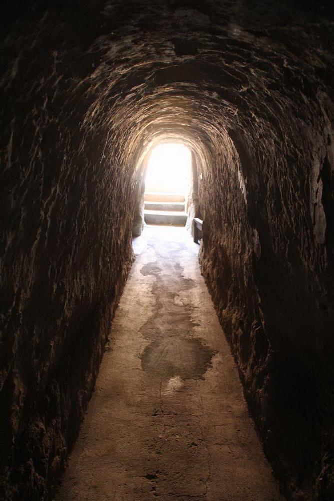 Подземные ходы монастыря Kyat Kan