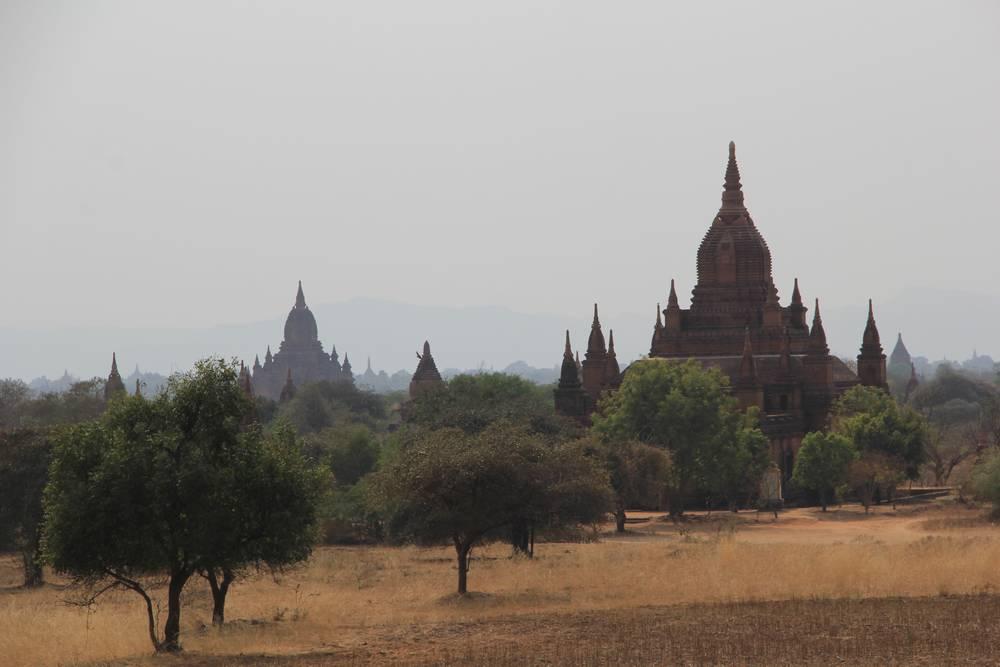 баган пагода Суламани