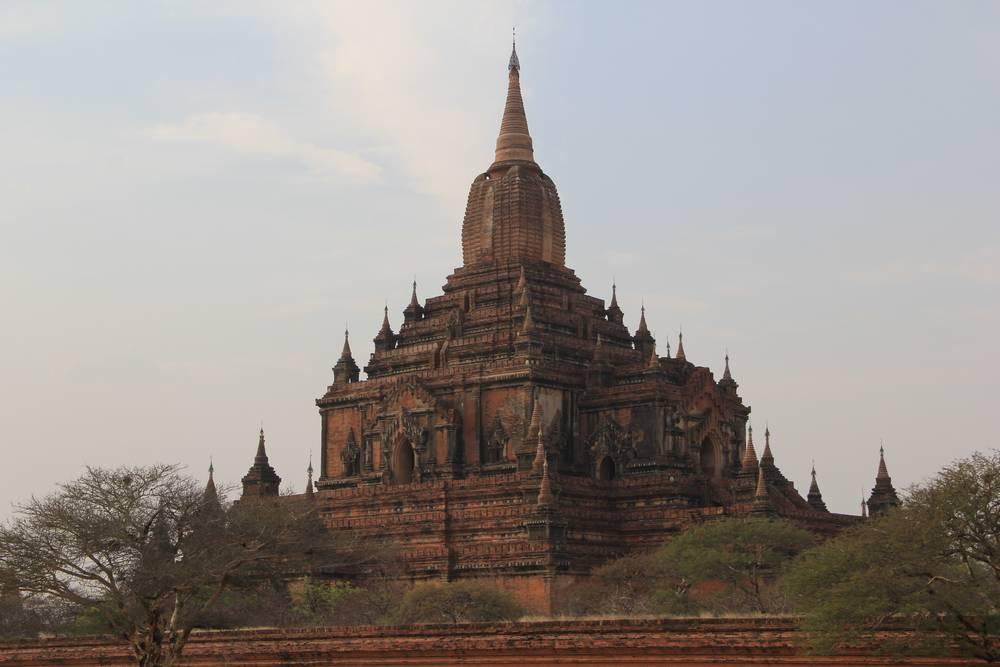 пагода суламани в багане