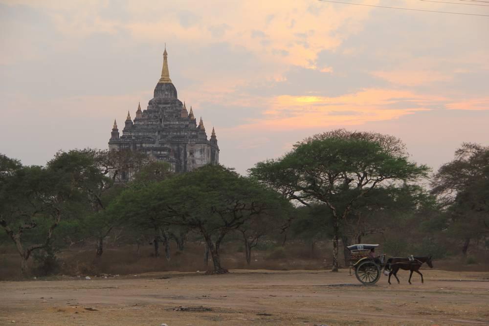 Баган Мьянма, Bagan Myanmar Sunrise