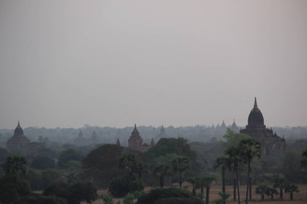 храмы мьянма