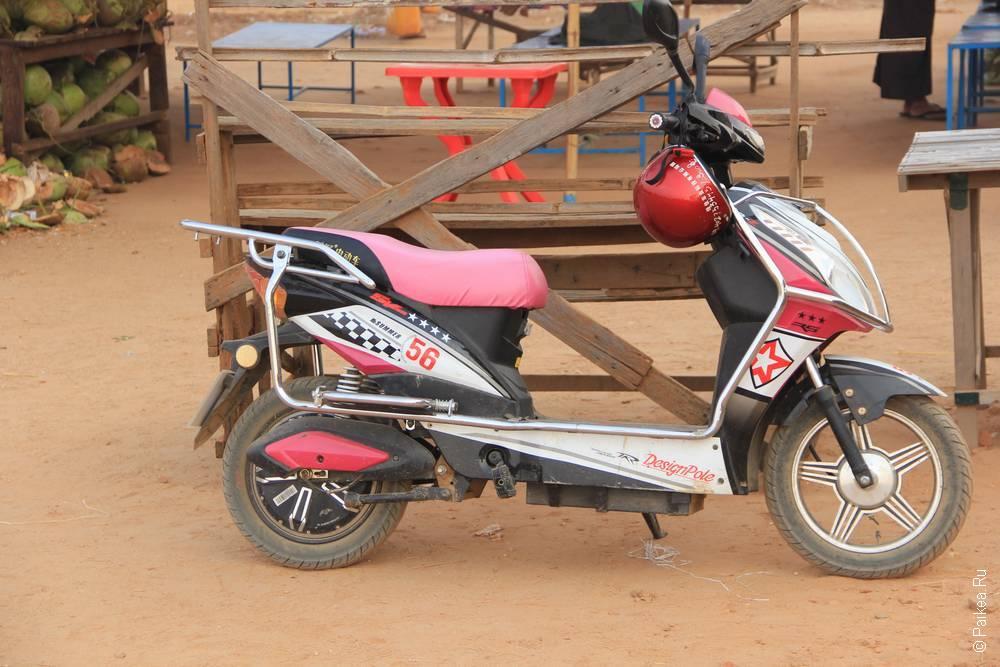 Электробайк в Багане