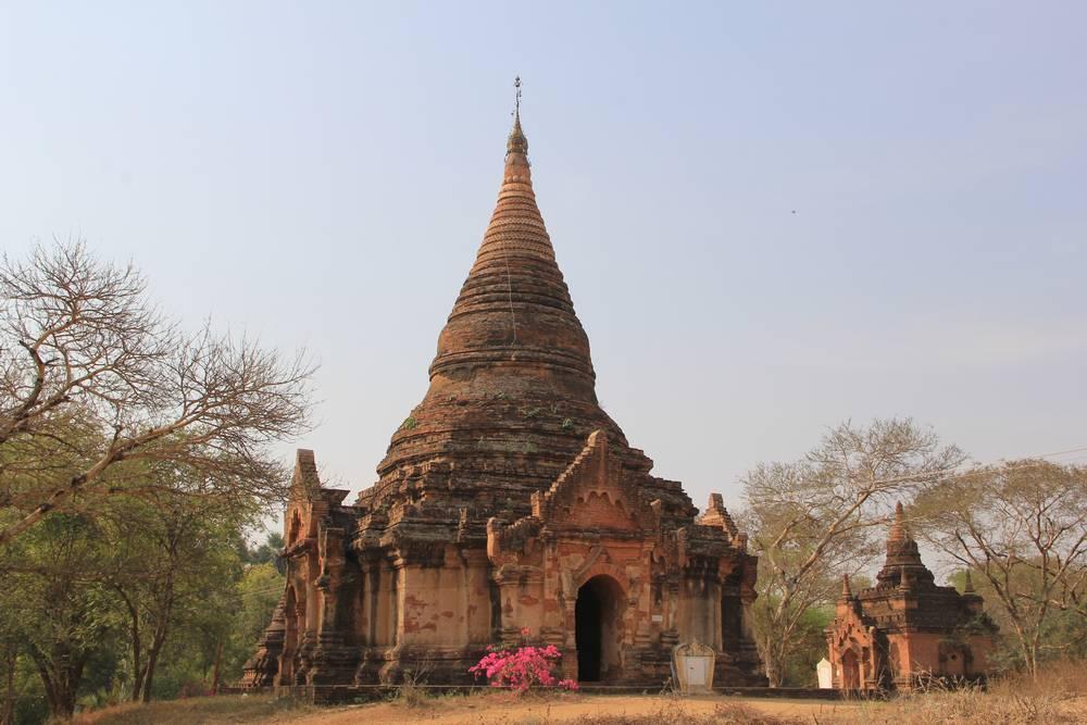 баган пагода Gu Byauk Nge