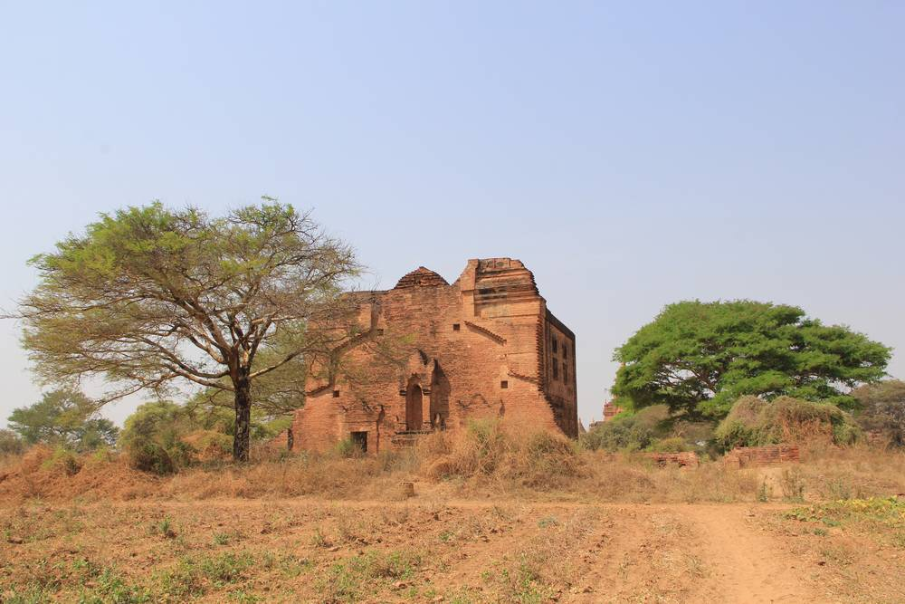 баган мьянма, заброшенная пагода