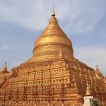 Золотая пагода Швезигон в Багане