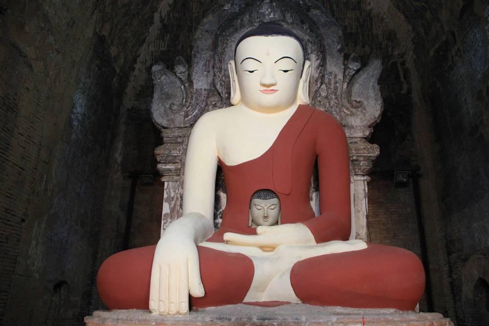 баган мьянма Два Будды