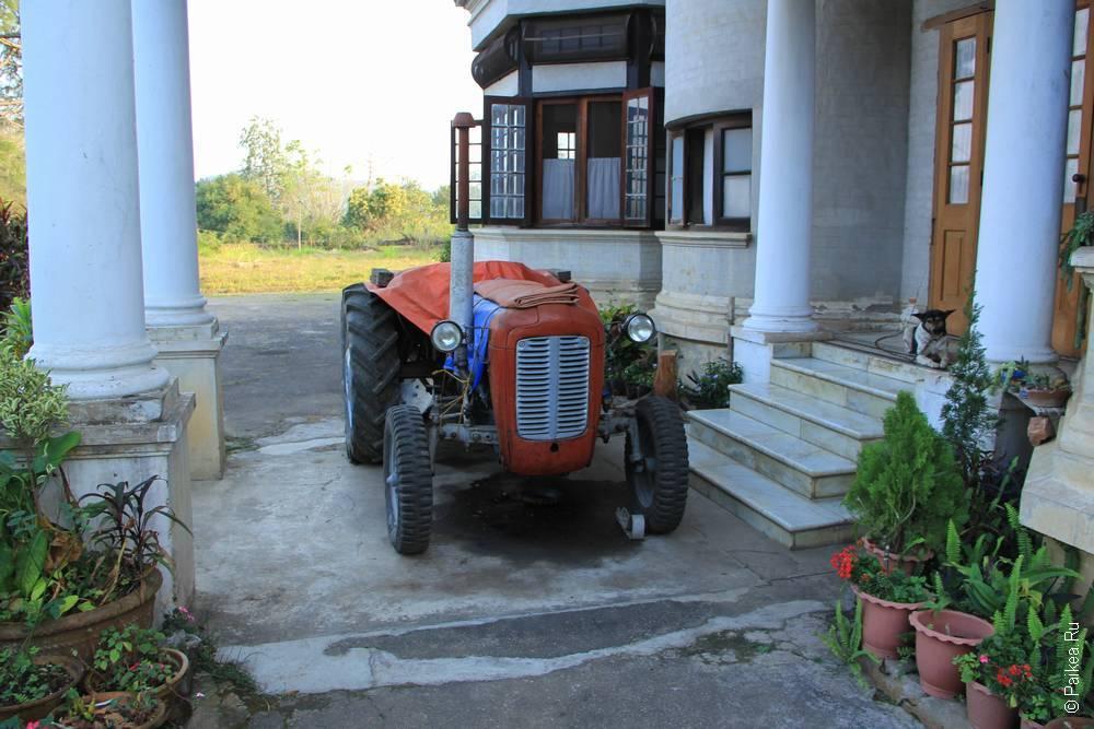 трактор в сипо