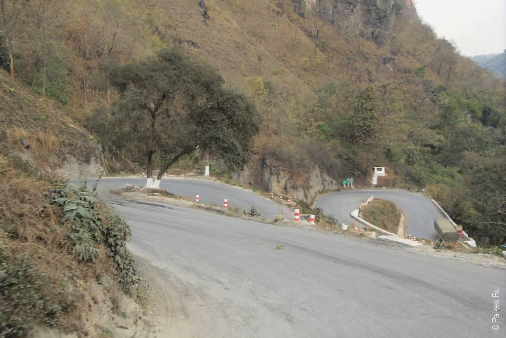 горная дорога в сипо