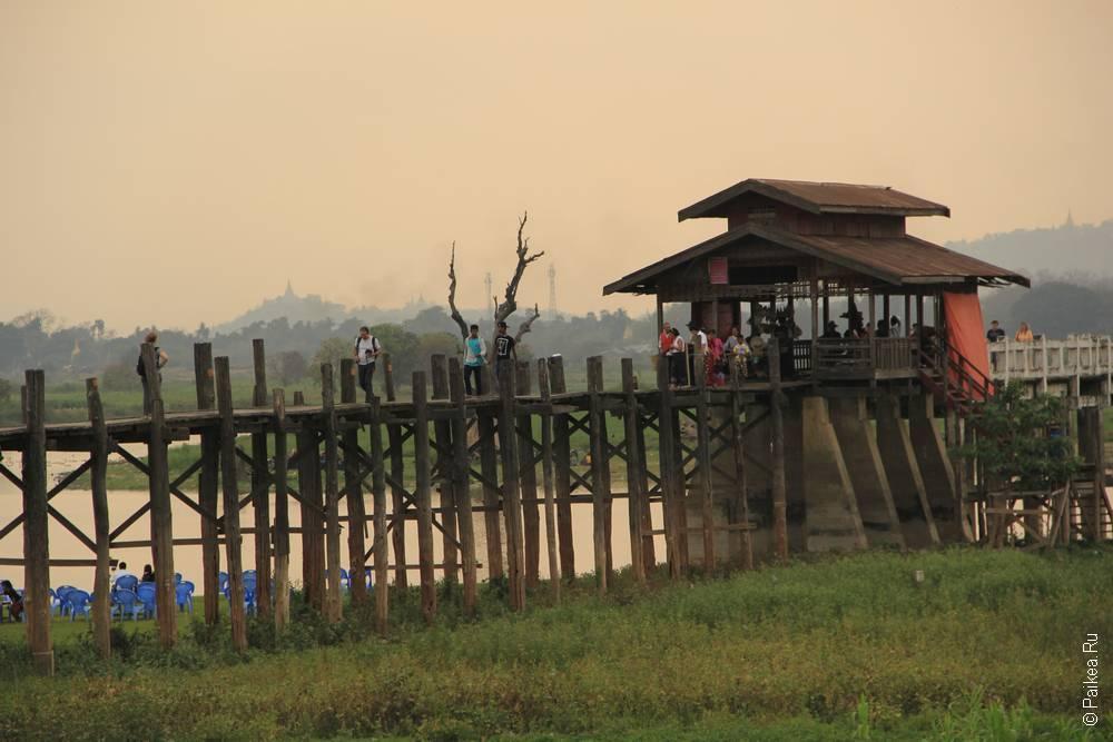мост убейн фото