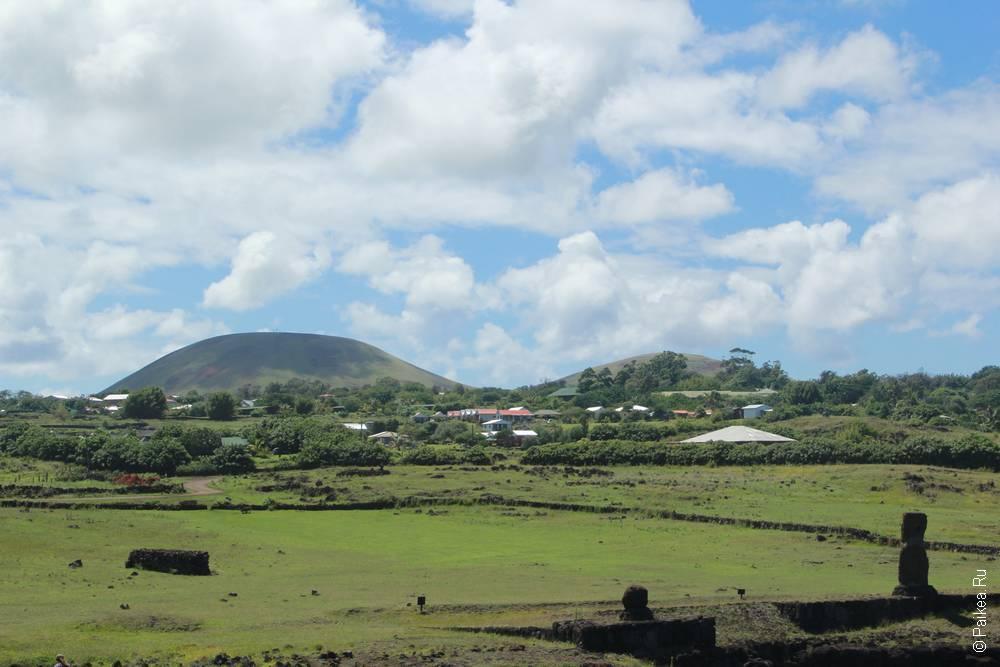 Ландшаф острова Пасхи