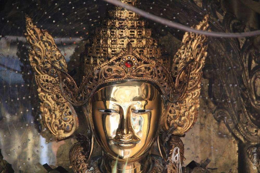 Золотой Будда в Шведагоне