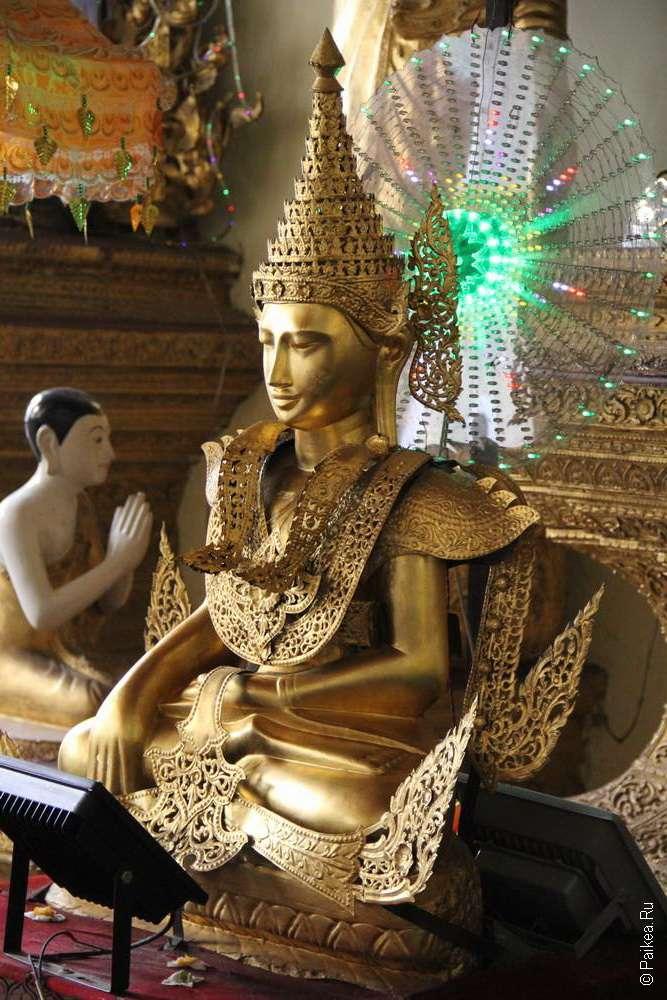 Статуя молодого Будды