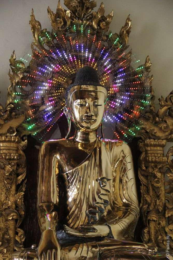 Подсветка для улучшения образа Будды