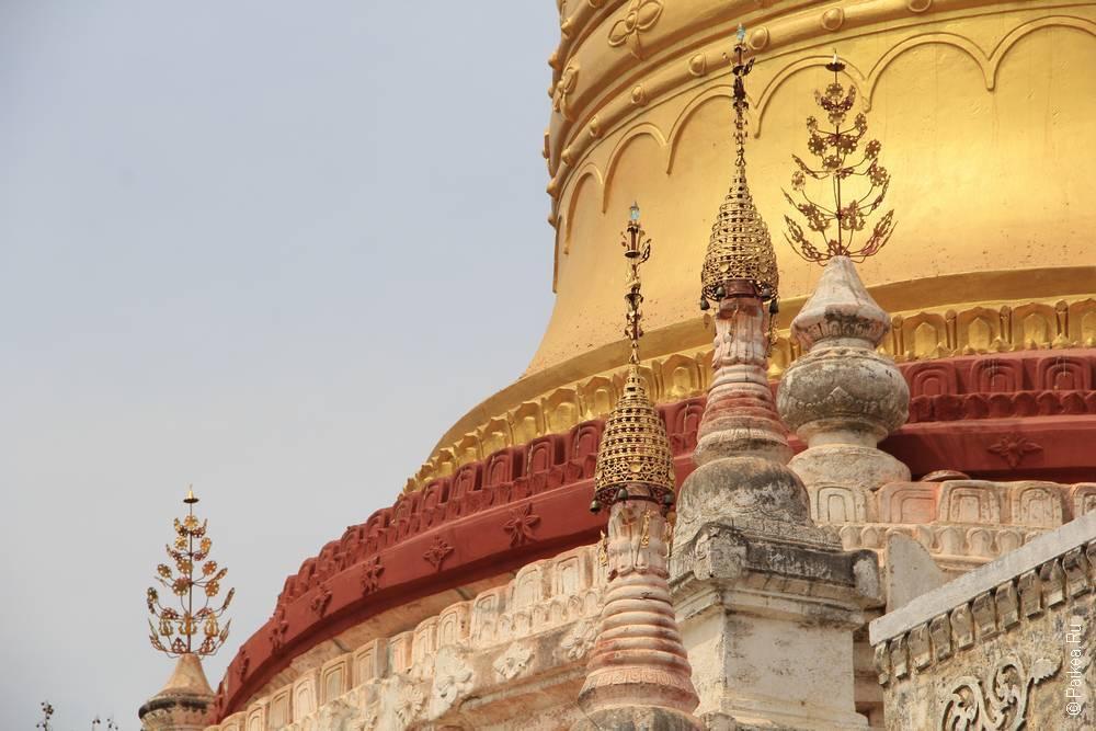 новая пагода баган