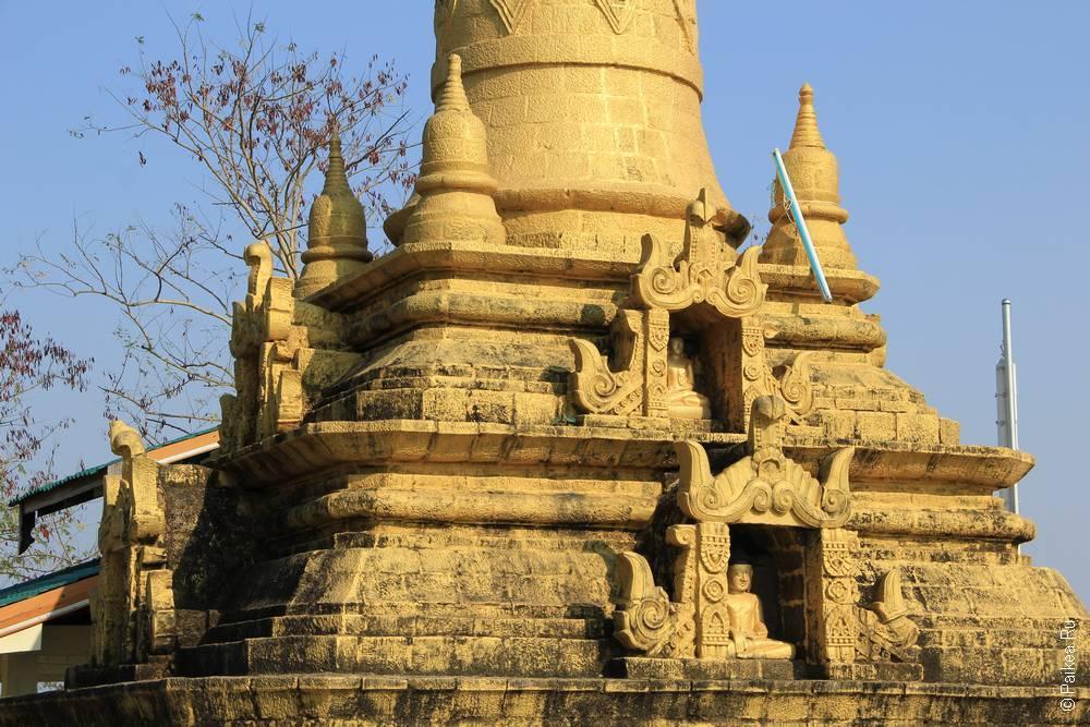 чеди в Мраук-У, Мьянма