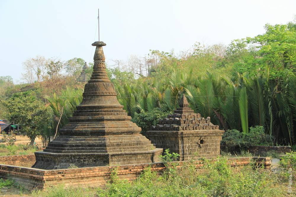 мраук-у мьянма пагода