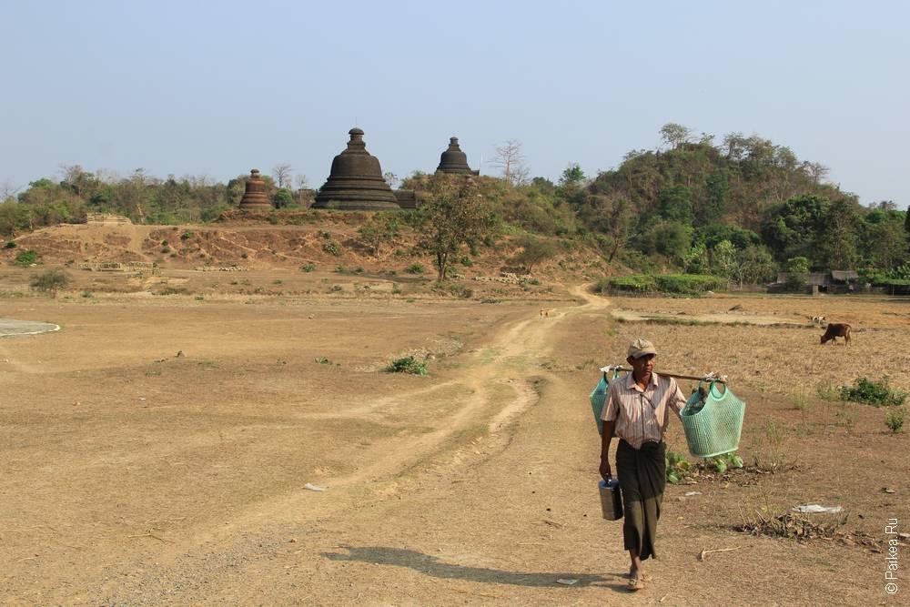 Житель Мьянмы